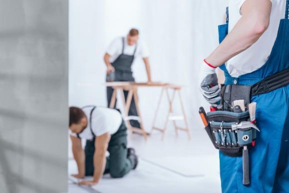 Travaux de rénovation intérieure à Senlis